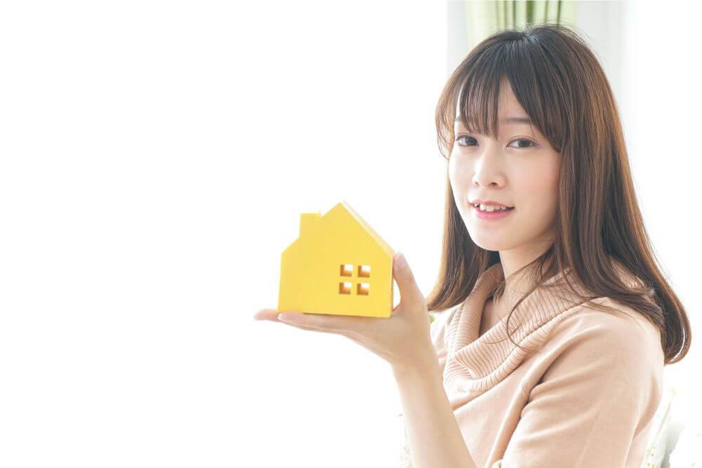 家と費用 女性