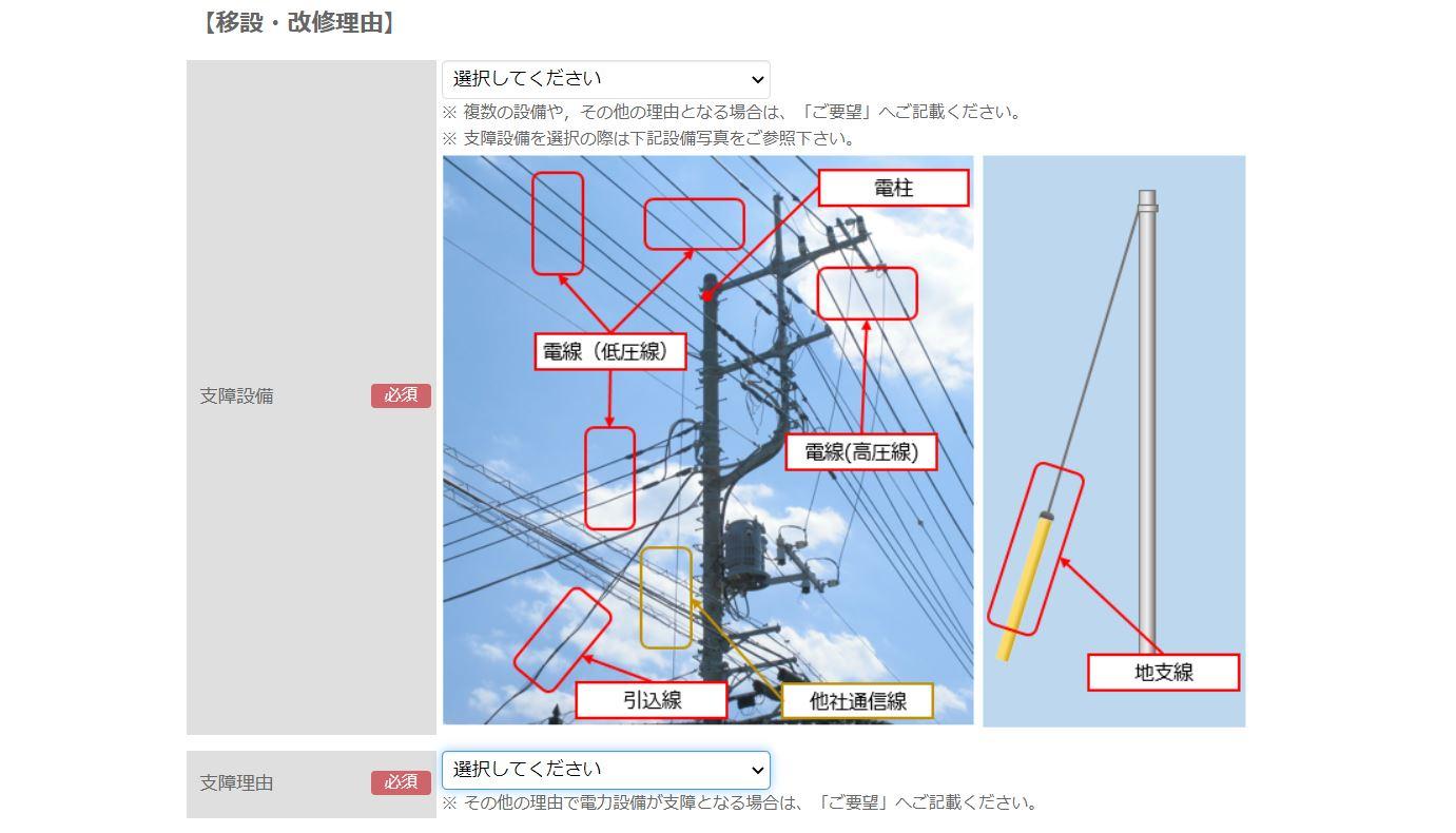東京電力 電柱の移設 やり方5